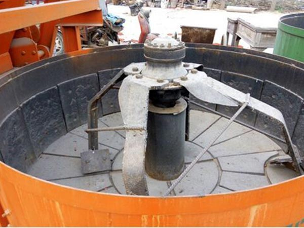 JW750 Vertical Forced Concrete Mixer