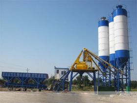 50m³/hr Concrete Batching Plant