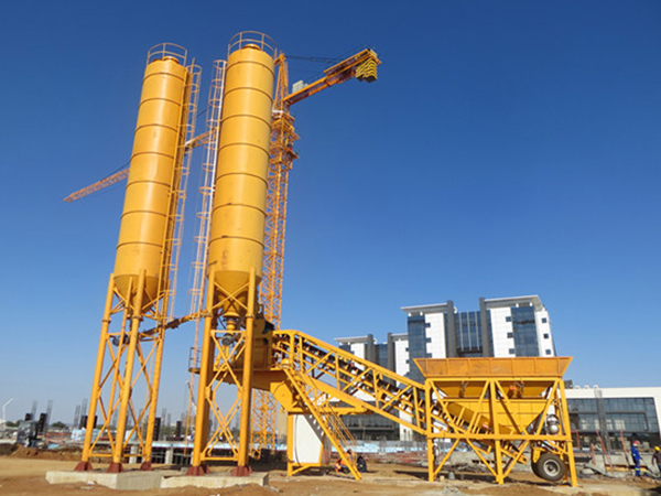 YHZS25 Mobile Concrete Mixing Plant