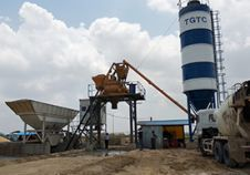 JS750 Concrete Mixer Applied in Myanmar Construction Project