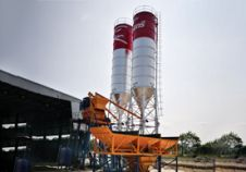 HZS35 Concrete Batching Plant in Thailand