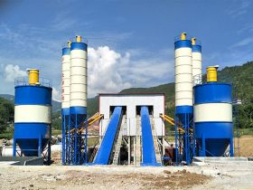 120m³/hr Concrete Batching Plant