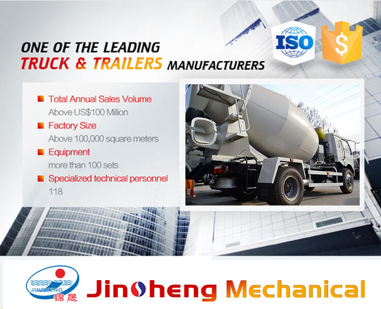 8m³ Concrete Mixing Transportation Truck