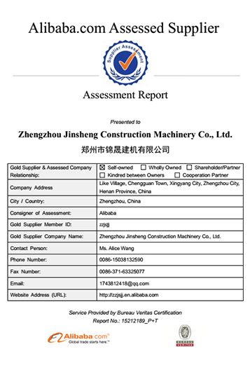 Zhengzhou Jinsheng Construction Machinery Co. , Ltd
