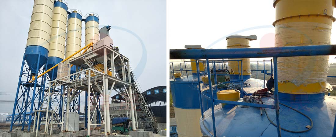 cement silo of  concrete batching plant