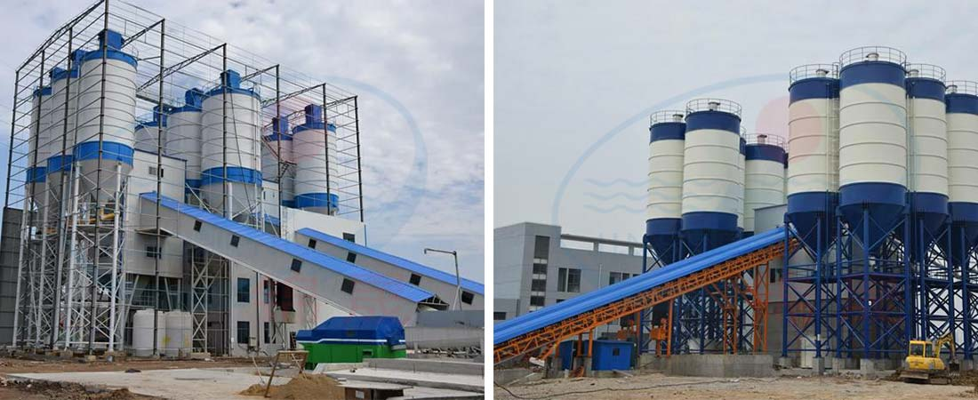 Environmental Protection Concrete Batching Plant