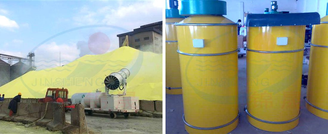 How to use dust collector in mixing plant properly