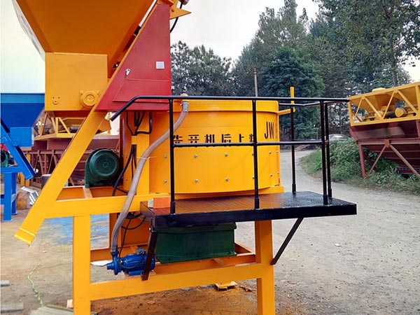 JW500 Vertical Forced Concrete Mixer