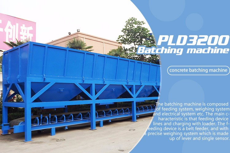 PLD3200 Aggregate Batching Plant